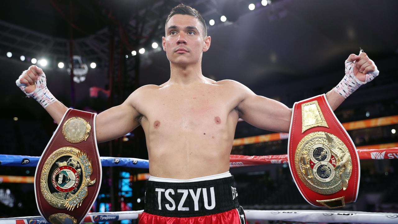 Tim Tszyu keen to take on the 'big boys' after his easy win over Bowyn Morgan.