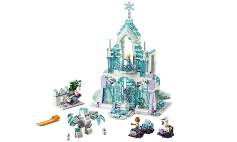 <b>2. LEGO FROZEN ELSA'S MAGICAL ICE PALACE, RPP $119.00, AGE 8+.</b>  <p>Lego + Frozen + Elsa = Magical Christmas morning. Even though Anna is the real heroine of the story, the allure of Elsa, the ice queen recluse, just doesn't seem to wane. This magical castle project will keep them amused all through the summer holidays.</p>