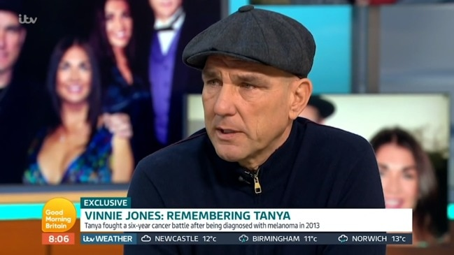 Vinnie Jones' heartbreaking TV interview (Good Morning Britain)