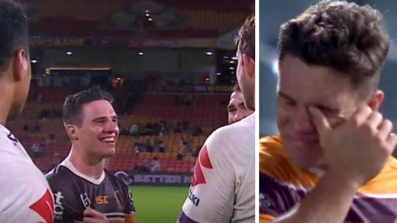 Brodie Croft was all smiles after Brisbane's latest loss.