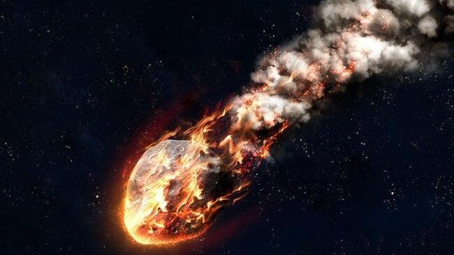 Artist's impression of a comet