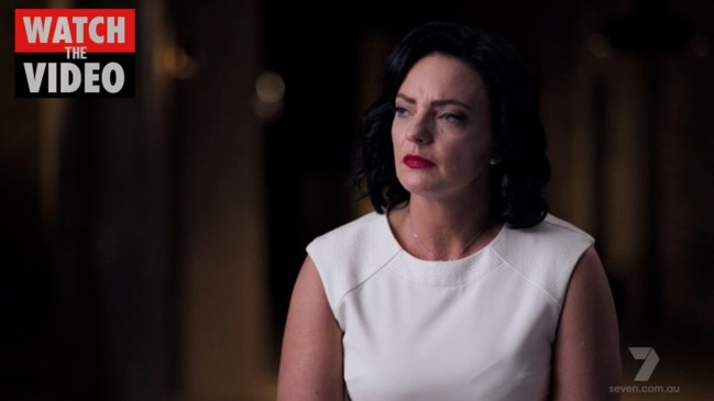 """Ousted politician Emma Husar has given emotional behind-the-scenes details of the """"Basic Instinct"""" scandal that ended her career."""
