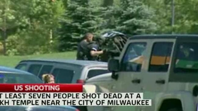 Seven killed in US Sikh temple shooting