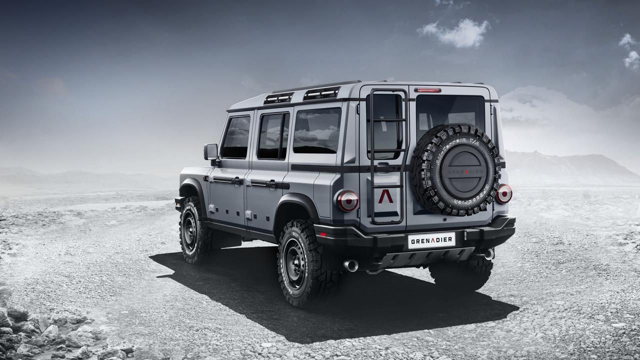 The INEOS Automotive Grenadier is ready for adventure.