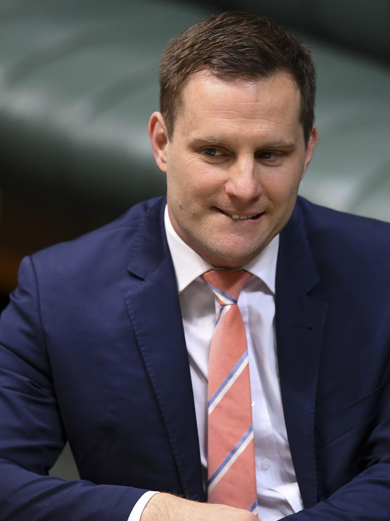 Special Minister of State Alex Hawke. Picture: AAP Image/Lukas Coch