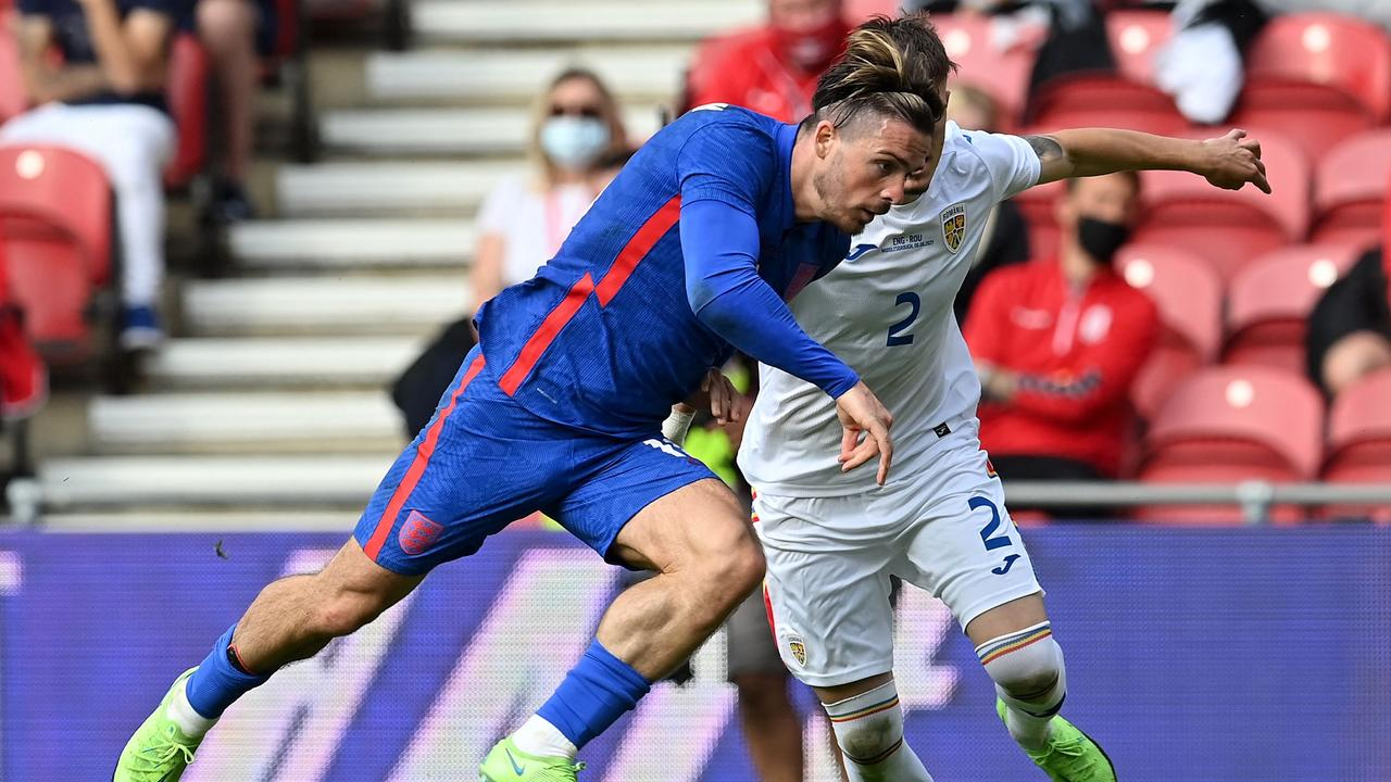 England will be hoping the highly-touted Jack Grealish can make his mark.