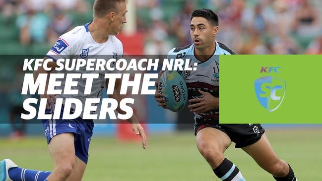 KFC SuperCoach NRL: Meet The Sliders