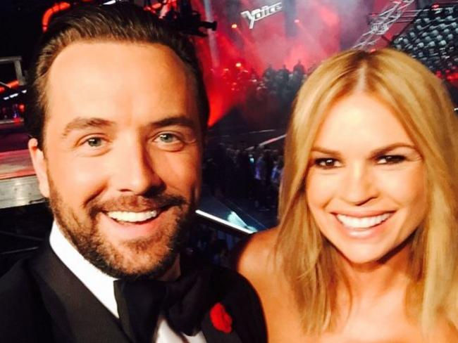 Darren McMullen denies he was pushed out by The Voice co-host Sonia Kruger. Picture: Instagram