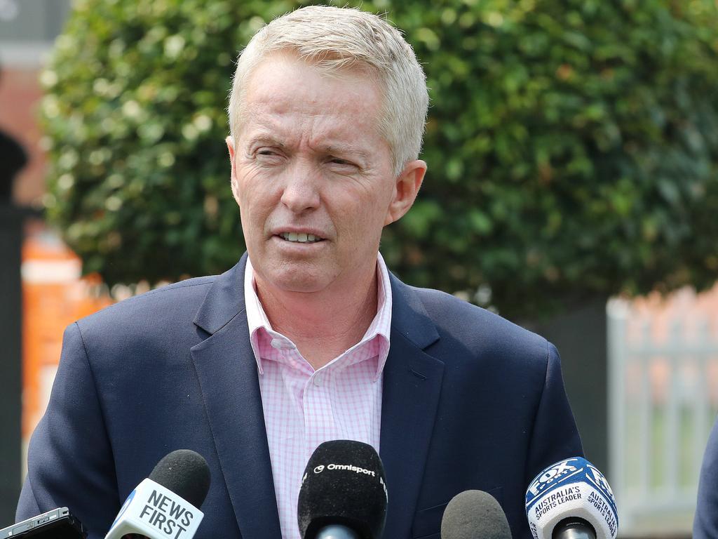 Australian Open tournament director Craig Tiley. Picture: Michael Klein