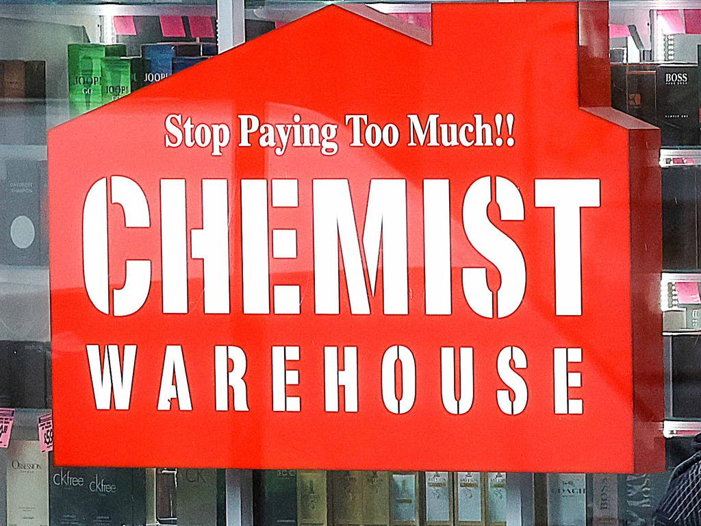 A Chemist Warehouse is among seven more sites in NSW where positive Covid-19 cases have visited. Picture: NCA NewsWire/Ian Currie