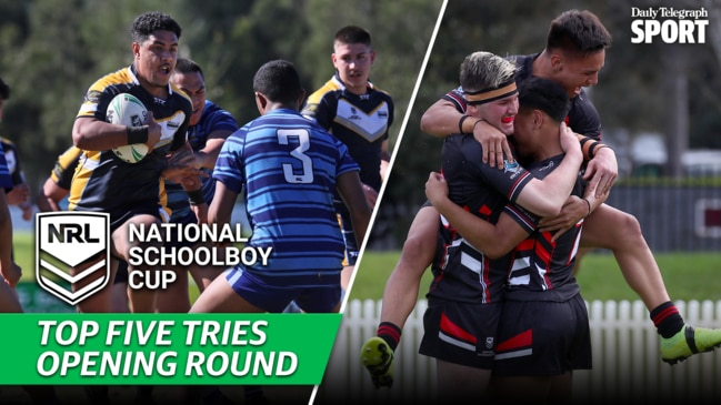 NRL Schoolboy Cup: Best tries of the opening round