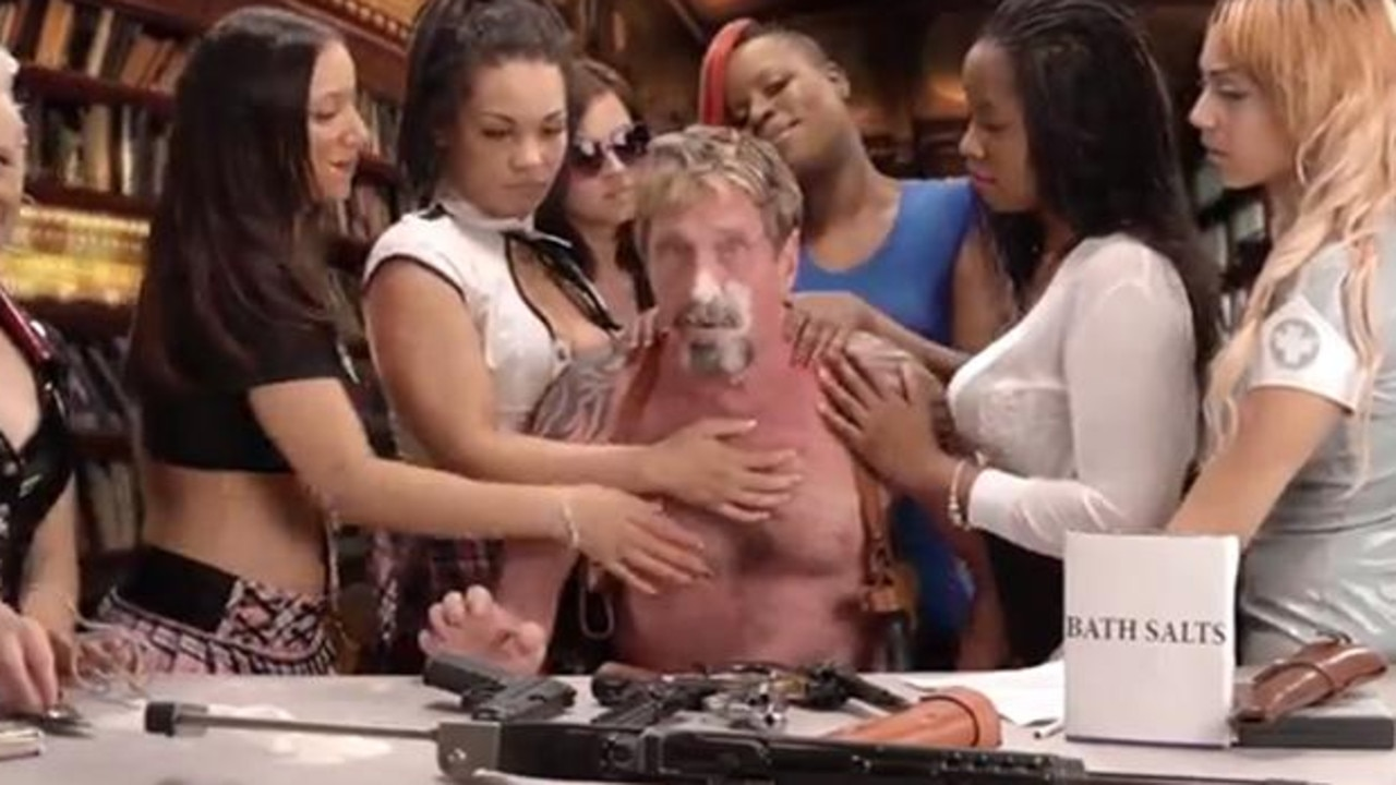 In 2013 he released a video titled 'How To Uninstall McAfee Antivirus'.