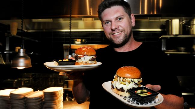 Head Chef Jonathan Walsh at Bread & Bone in the city.