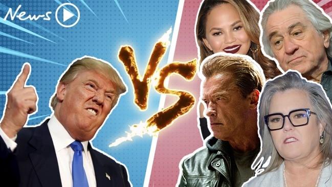 Trump's biggest celebrity feuds
