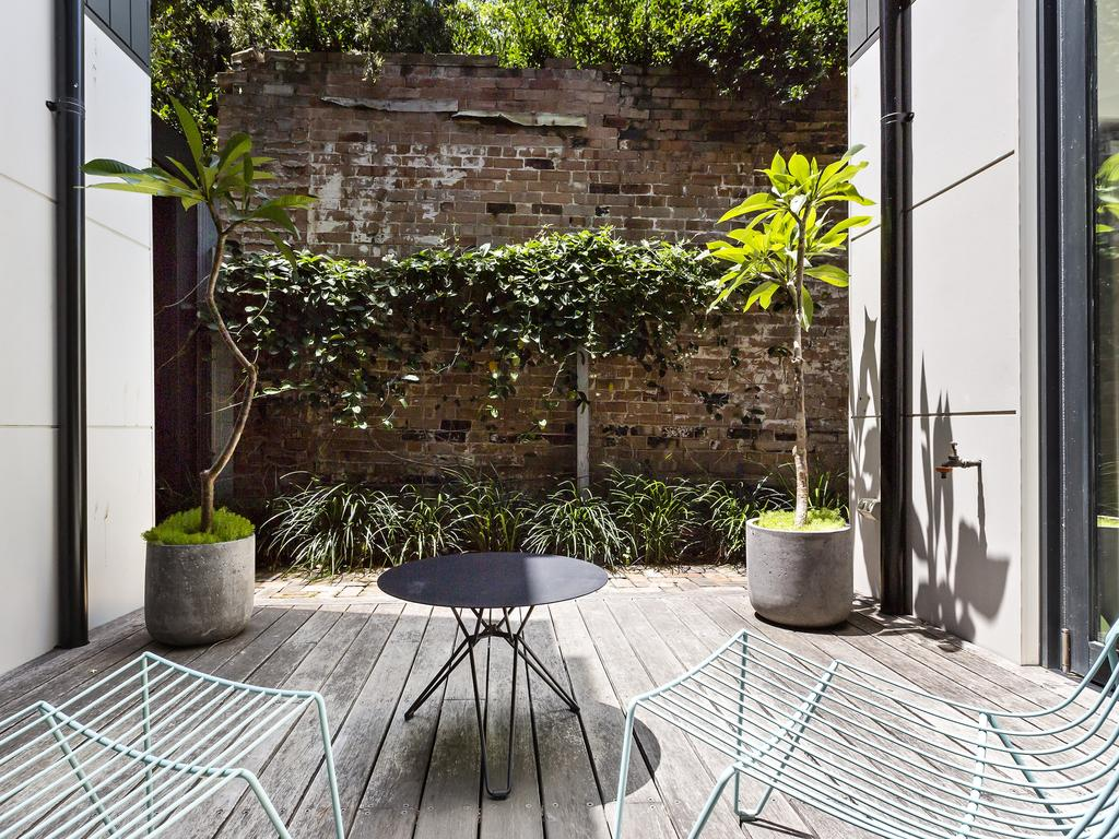 The second outdoor space.