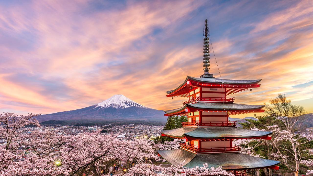 Where to next? Japan.