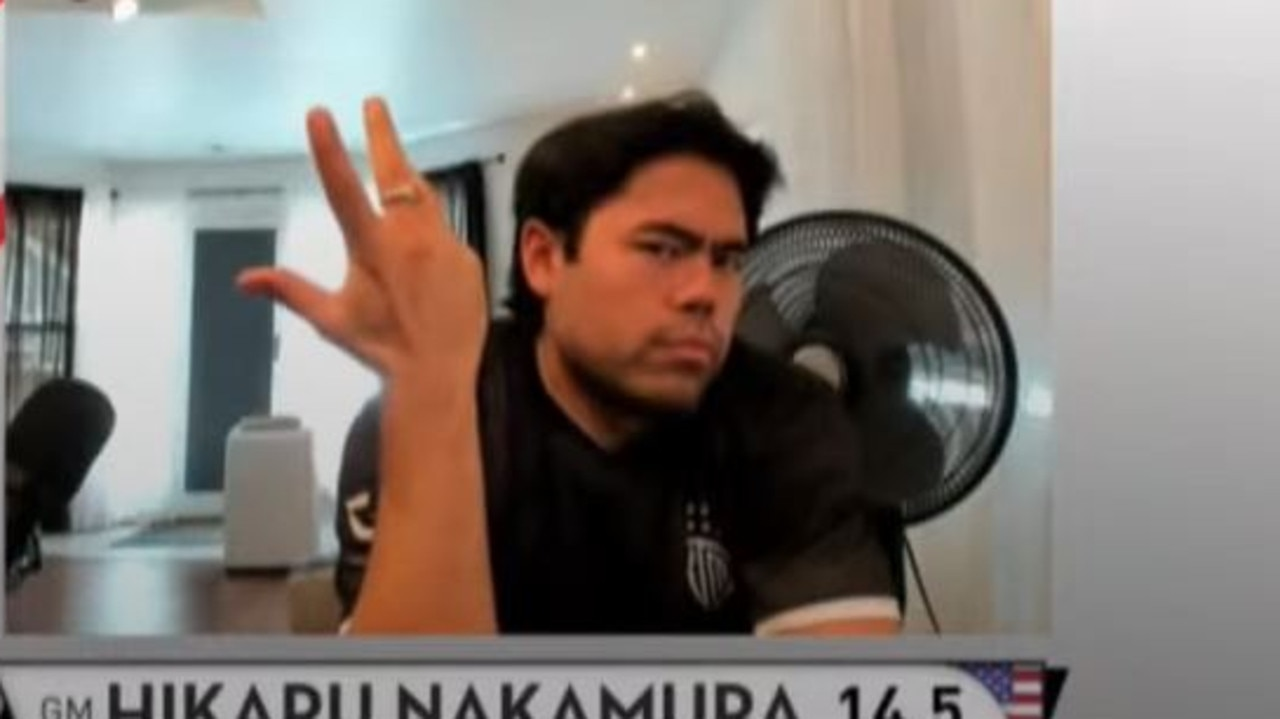 Hikaru Nakamura was perplexed waiting for Magnus Carlsen to arrive.