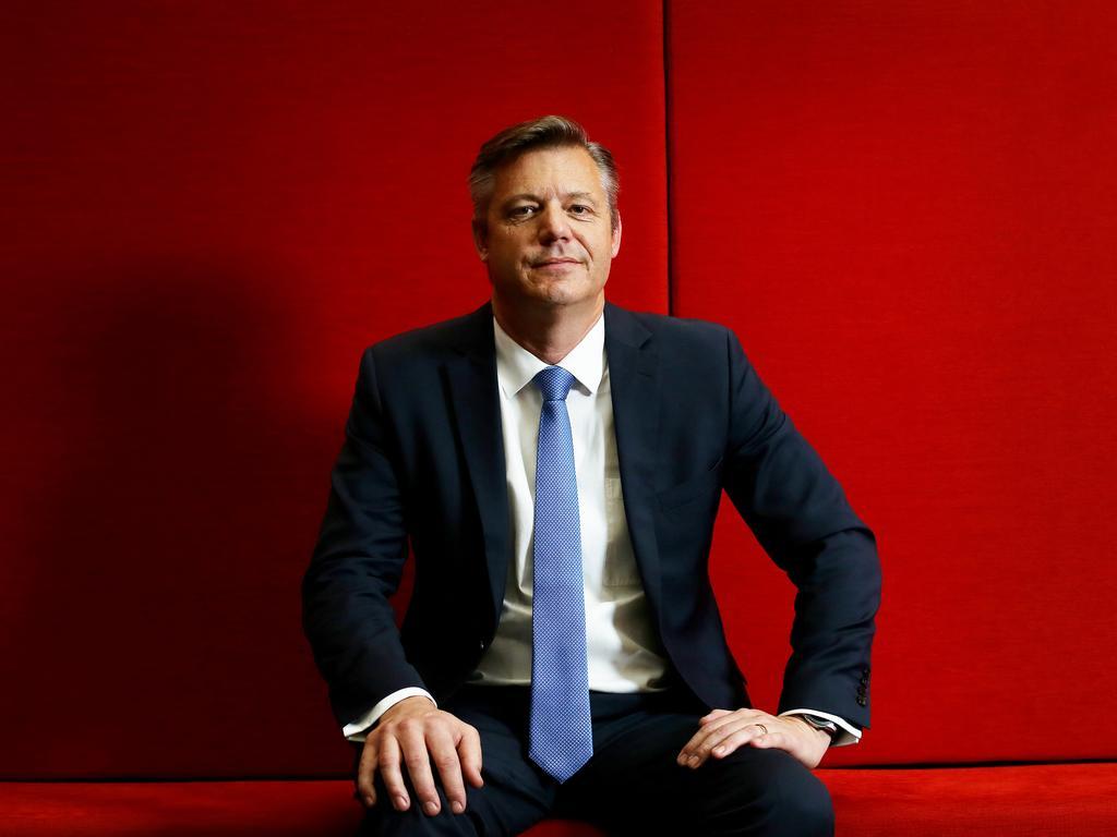 Channel 7 chief executive James Warburton.