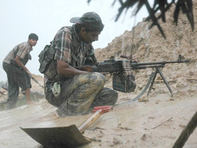 The Liberation Tigers of Tamil Eelam fights against Sri Lankan government forces Photo: Liberation Tigers of Tamil Eelam