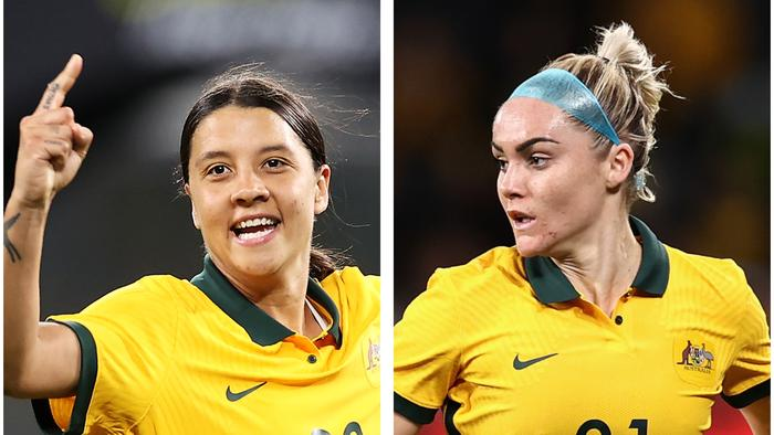 Sam Kerr led from the front as Ellie Carpenter was at her marauding best.