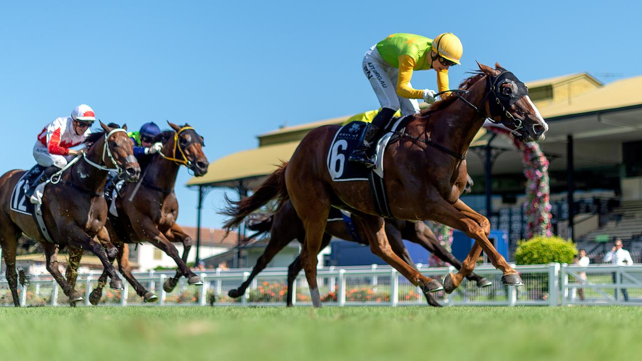 The Eagle Farm surface has come under fire. Picture: AAP