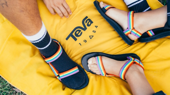 These sandals were made for... everyone. Image: Supplied