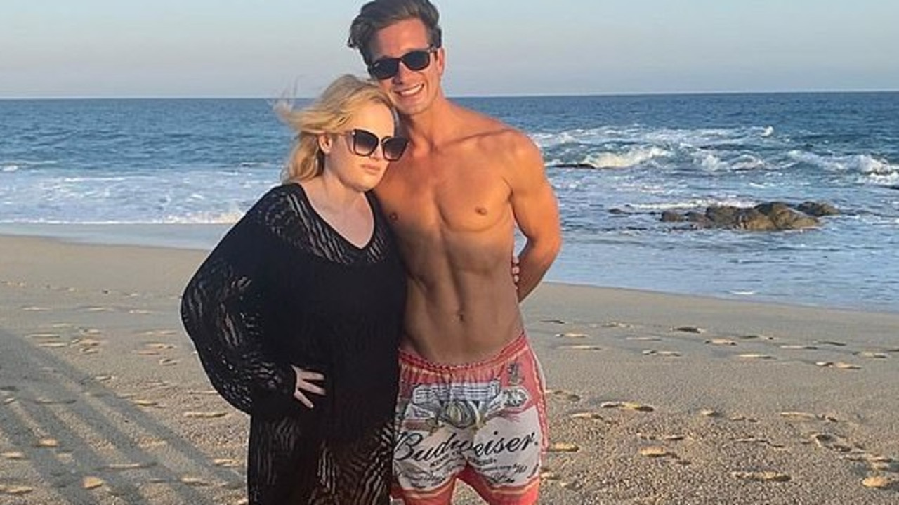 Rebel and her boyfriend enjoyed a day at the beach. Picture: Instagram