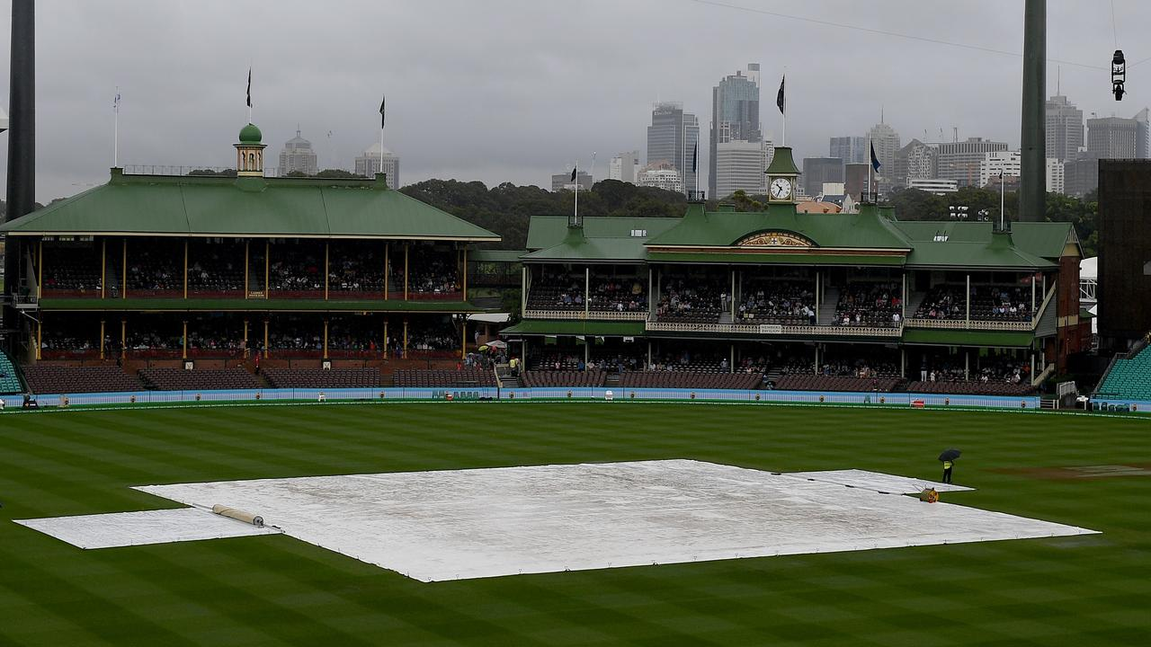 Sydney's wet weather could cost Australia a spot in the World Cup final.