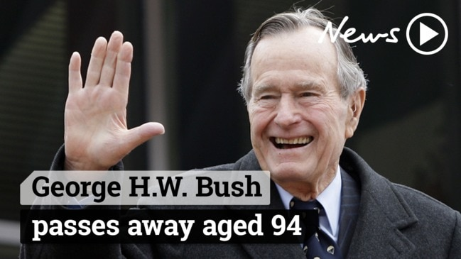 George H.W. Bush passes away aged 94