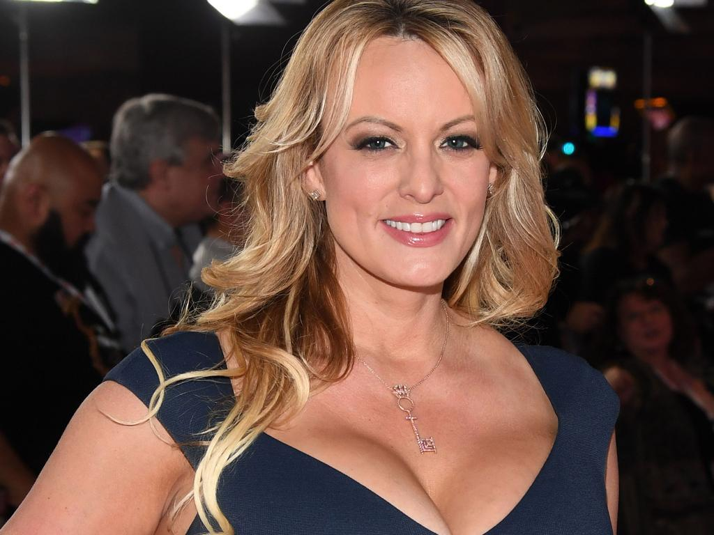 Adult film actress Stormy Daniels at the 2019 Adult Video News Awards at The Joint inside the Hard Rock Hotel & Casino in Las Vegas, Nevada. Picture: Ethan Miller/Getty Images/AFP