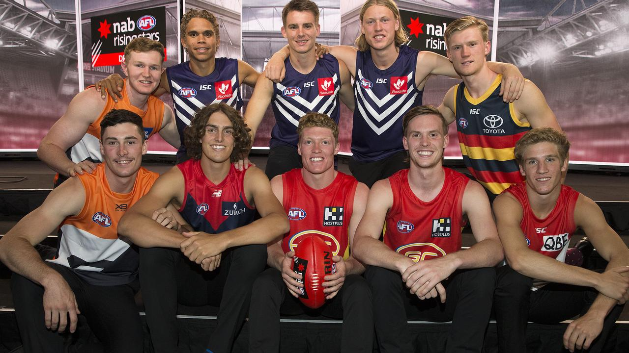 Full AFL draft order after Round 1: Every team, every pick