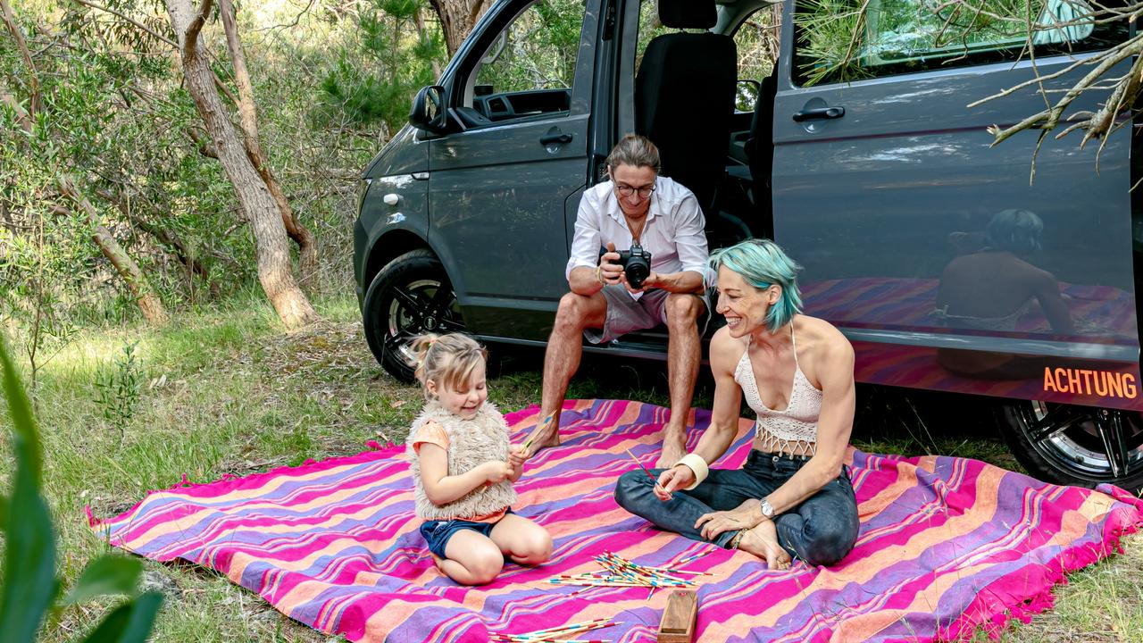 Ronny Probandt and Tania Differding say they make between 35-40 campervans each year. Picture: Supplied