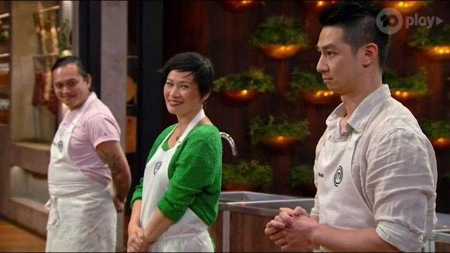 Reynold wows the judges and wins immunity (MasterChef Australia)
