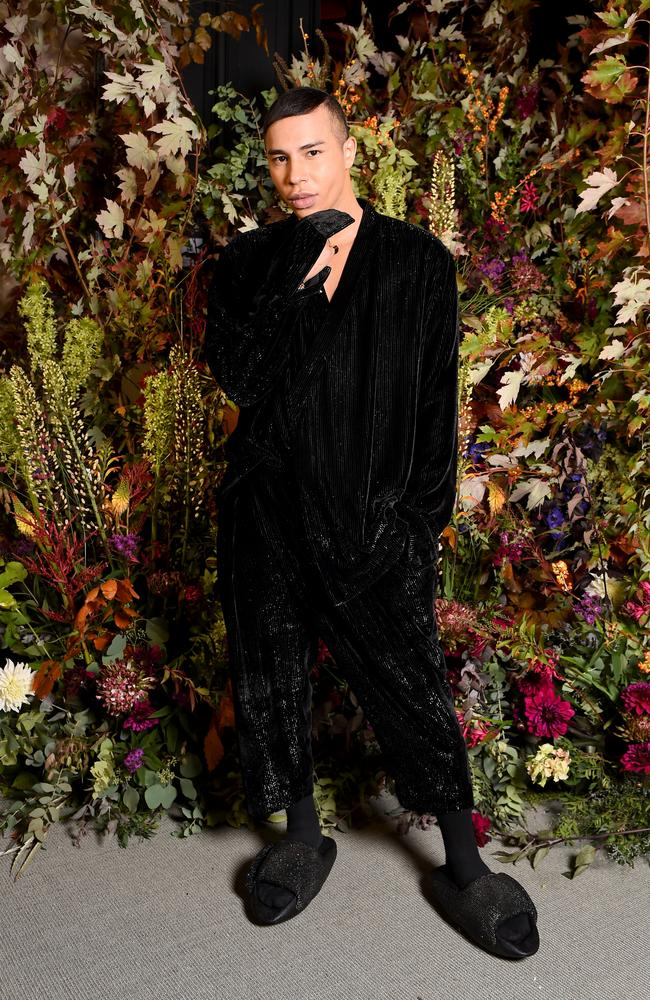 Olivier Rousteing attends the 100th Anniversary Exhibition Of Vogue Paris as part of Paris Women's Fashion Week on October 1, 2021. Picture: Anthony Ghnassia/Getty Images