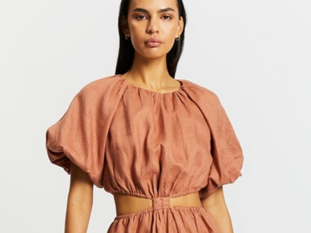 Are casual summer dress with cut outs.