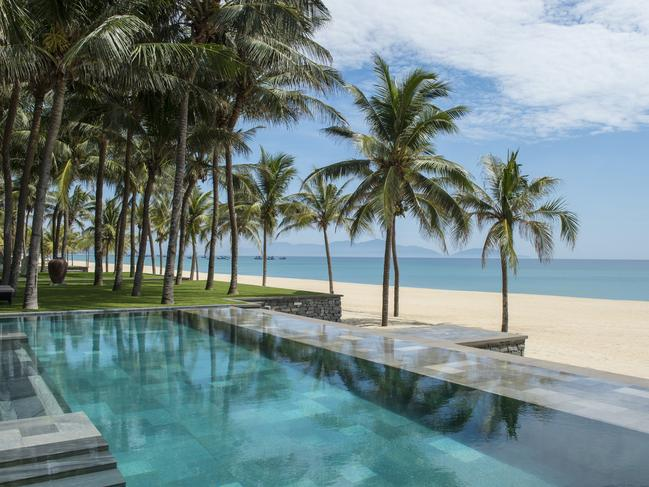 FOUR SEASONS RESORT, THE NAM HAI Simultaneously serene and striking, The Four Seasons Resort, the Nam Hai's signature style and service guarantee those lucky enough to occupy one of the graceful garden villas steps from the South China Sea a significant stay.