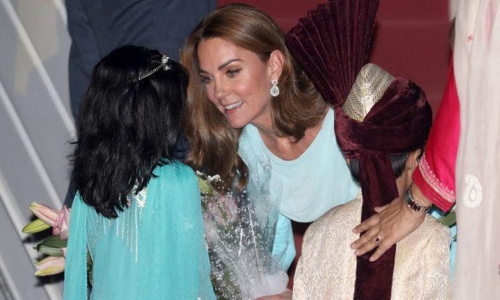 Kate's touching tribute to Princess Diana in Pakistan
