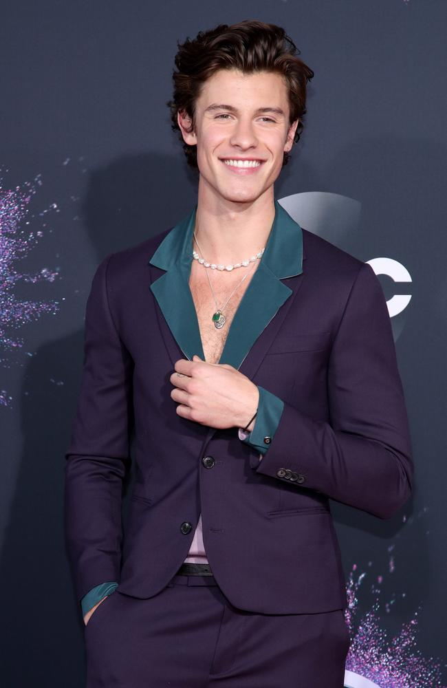 Shawn Mendes. Picture: Getty