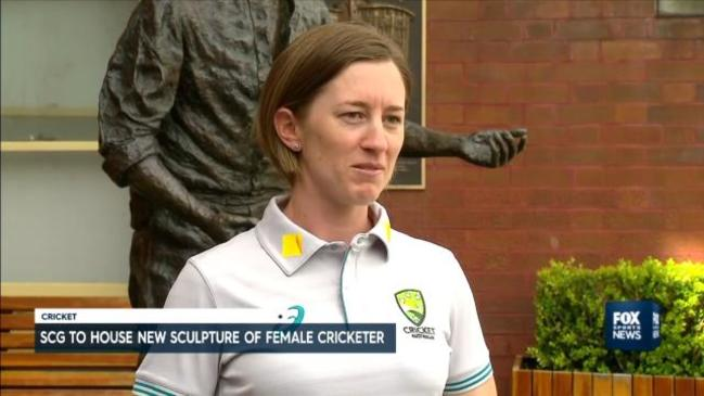 Women's cricket star to be immortalised