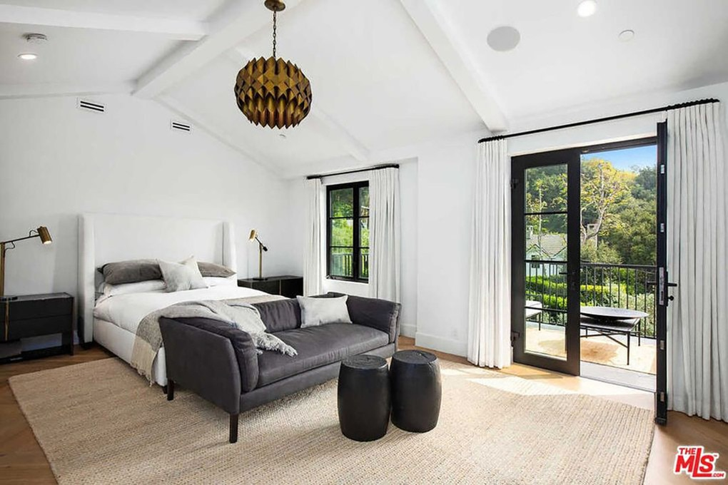 One of the home's five bedrooms. Picture: Realtor