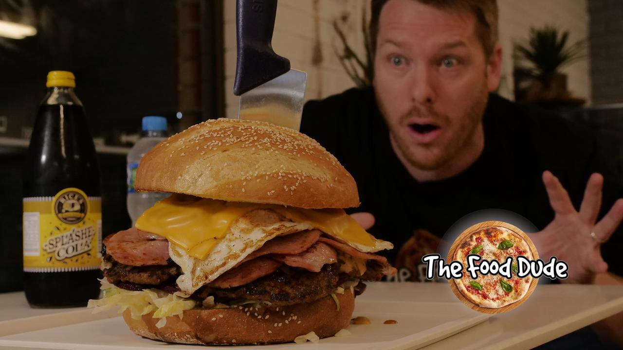 The Food Dude Alo Baker has travelled the country in search of our most impressive grub. Picture: The Food Dude