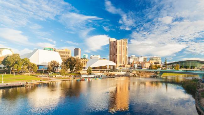 Adelaide city ckyline
