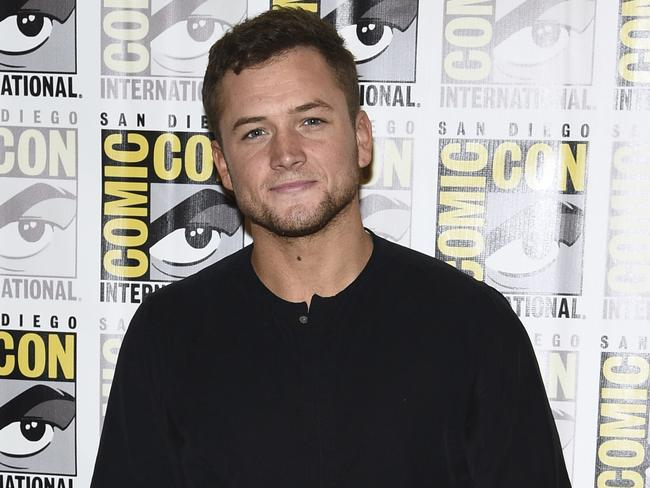 Taron Egerton probably should have realised who he was playing with when he started the prank war. Picture: Al Powers/Invision