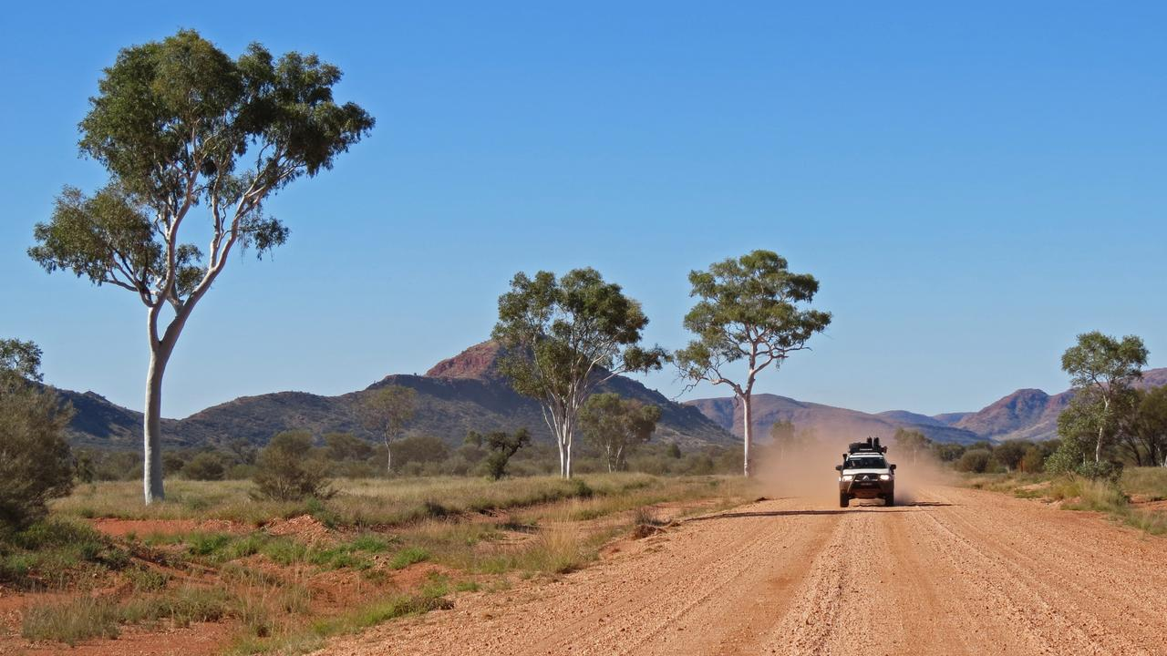 Grand Central Road, Petermann Range, near start of Sandy Blight Junction Track. Picture: Lee Atkinson