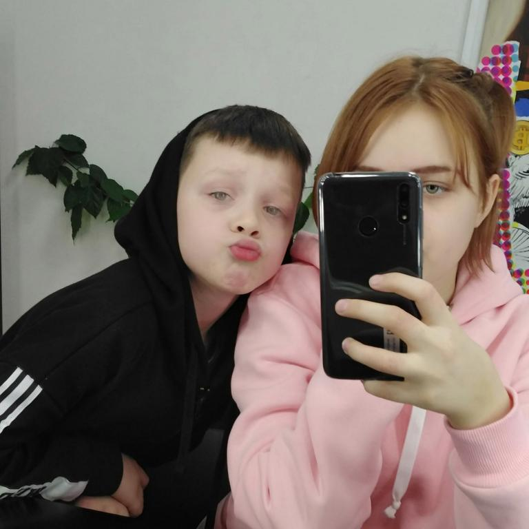 Darya, 13, alleges Ivan, 10, got her pregnant. Picture: East 2 West News/Australscope