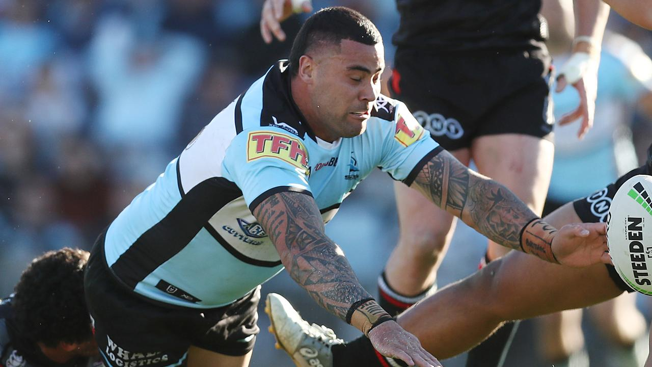 192 metres, 10 tackle busts: Fired-up Andrew Fifita's ominous finals warm-up