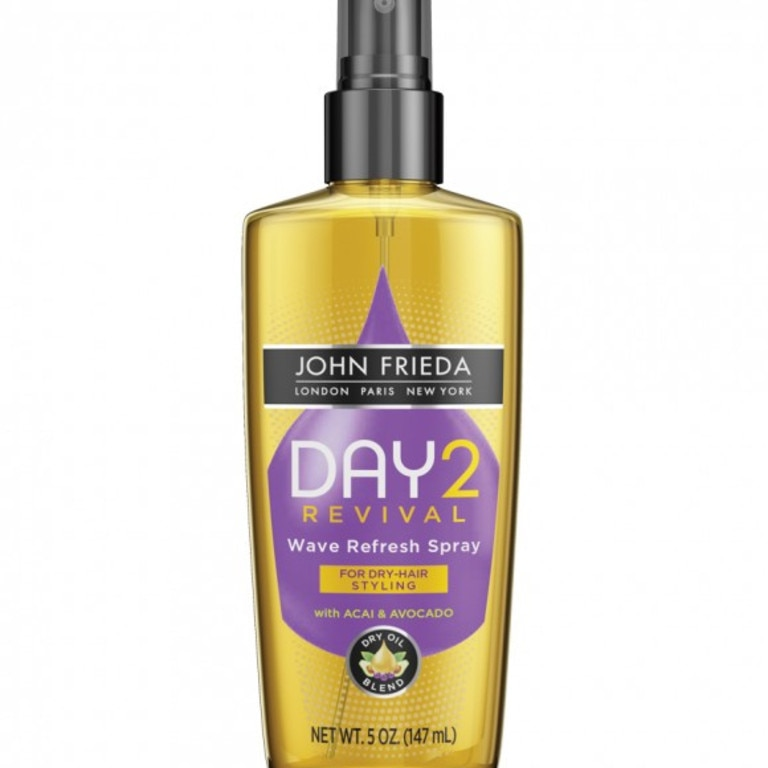 Shireen says this is her favourite hair product for her naturally curly mane. Picture: Supplied