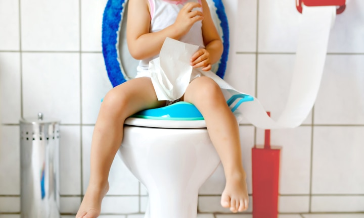 The trick a GP uses to get your child to poo