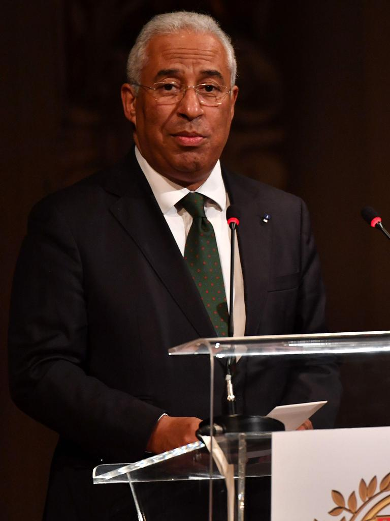 Portuguese Prime Minister Antonio Costa will ease restrictions from October 1. Picture: AFP