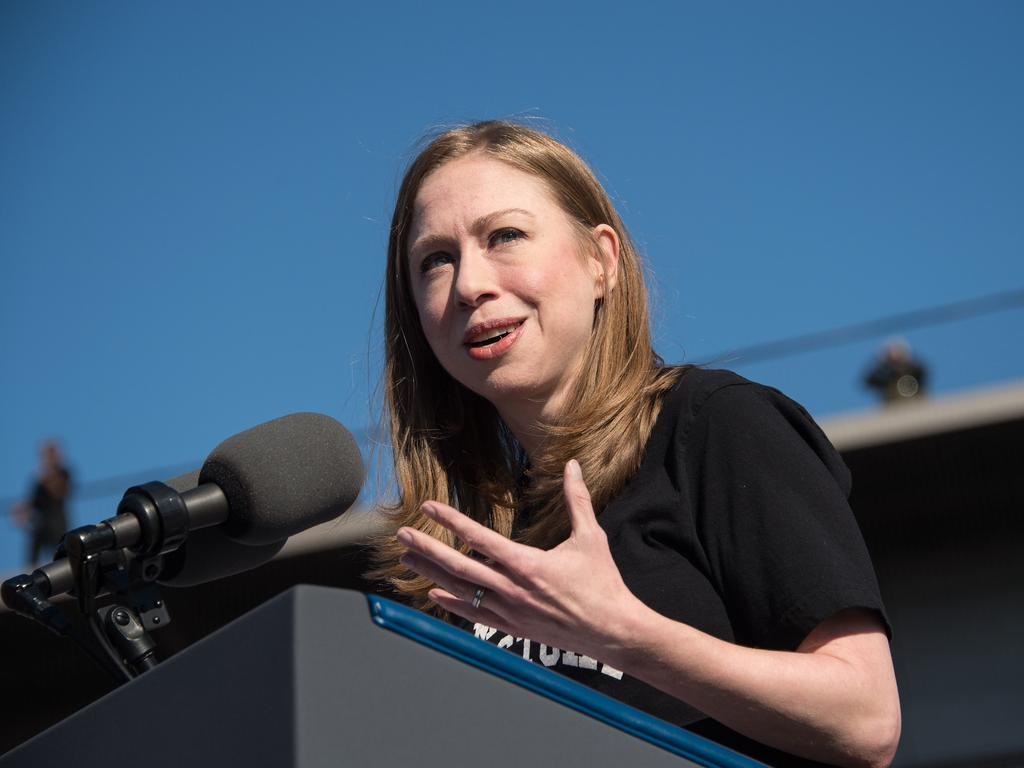 Chelsea Clinton told the students she was sorry they felt that way, which further inflamed the situation.